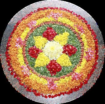 Onam, Flowers, Floral Arrangement, Floral, Carpet