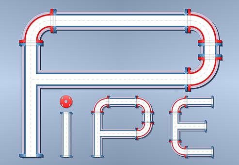Water Pipes, Pipeline, Flange, Sanitary Engineering