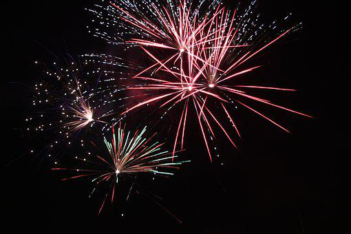Fireworks, Pyrotechnics, Colorful, Celebrate