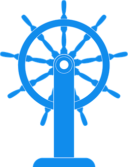Steering Wheel, Ship, Boat, Yacht, Sea, Ocean, Travel