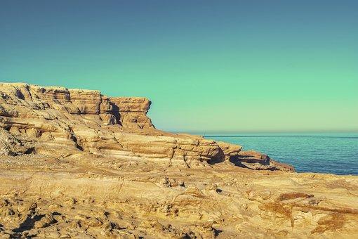 Rocks, Cliff, Sea, Sky, Stone, Landscape
