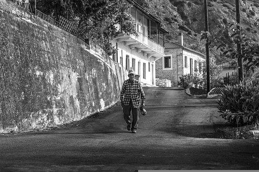 Man, Old Man, Street, Senior, Elderly, Walking, Walk