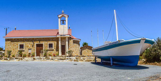 Church, Temple, Building, Boat, Ship, Architecture