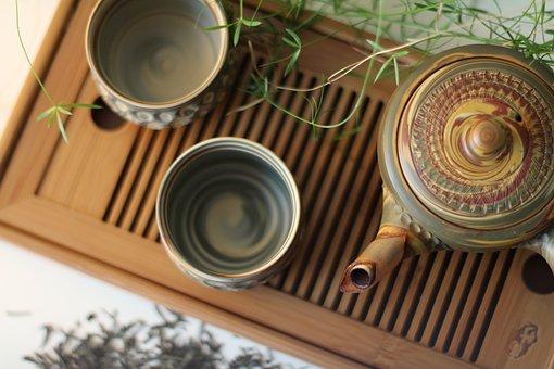 Tea, Tea Set, Teacups, Teapot, Traditional Tea Set