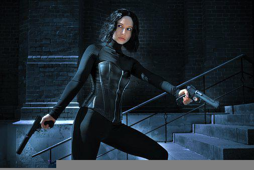 Woman, Actress, Cosplay, Vampire, Gothic, Fantasy