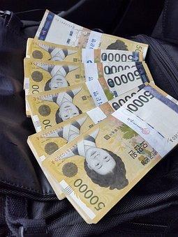 Money, Mad Money, Korean Money, Won, South Korean Won