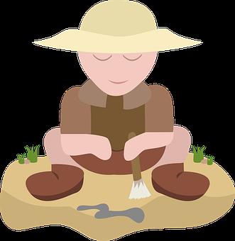 Archaeologist, Archeology, Excavation, Site Excavation