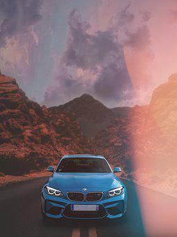 Car, Vehicle, Automobile, Wheels, Modern, Fast, Bmw M2