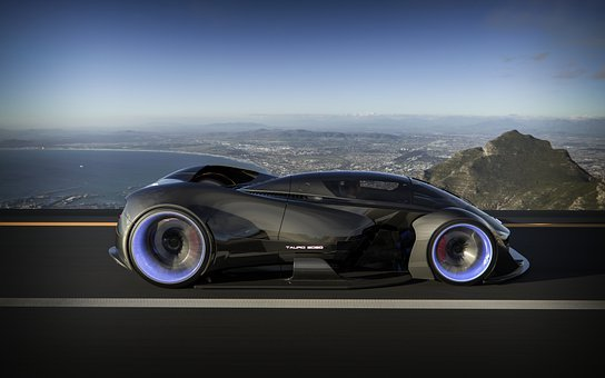 Luxury Car, Car, Vehicle, Futuristic Car Design
