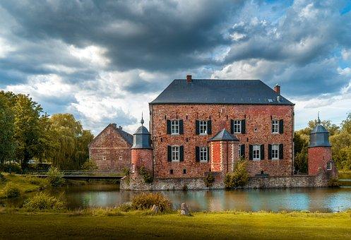 Castle, Architecture, Landscape, Mystical, Building