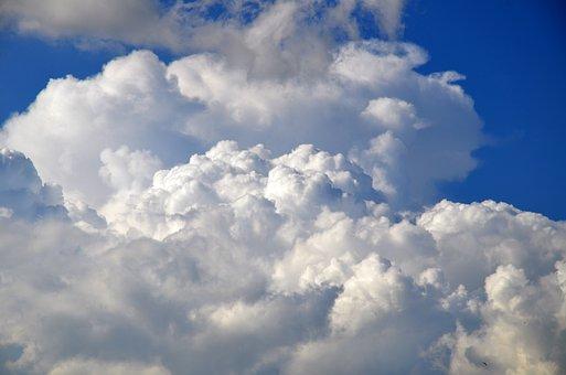 Clouds, Cloudscape, Sky, Blue Sky, White Clouds