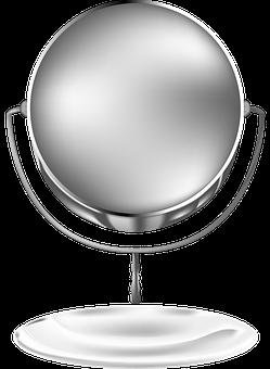 Mirror, Reflection, Cosmetics, Tools, Woman, Spa