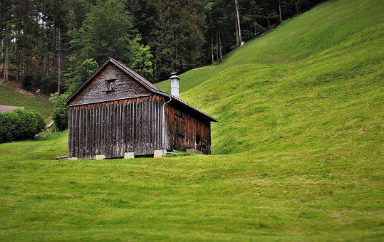 Cottage, Cabin, Wooden House, Old House, Old Huts