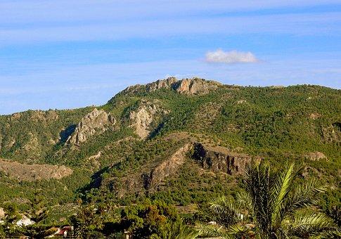Cresta Del Gallo, Mountain, Landscape, Mountain Range
