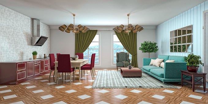 Living And Dining Room, Decor, Furniture, Decorations