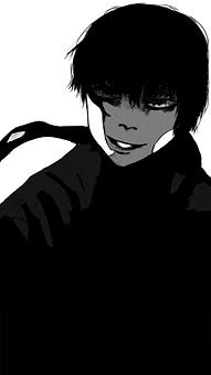 Character, Art, Comic, Anime, Figure, Kaneki Ken