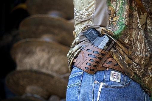 Gun Belt, Carry Holster, Gun Holster, Leather Gun Belt