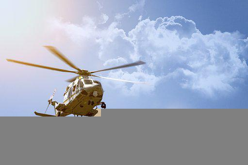 Helicopter, Aircraft, Sky, Rotorcraft, Helicopter Rotor