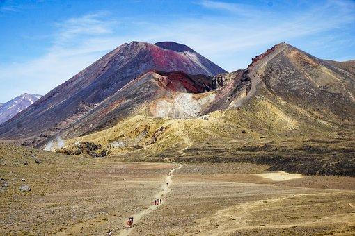 National Park, Volcanoes, Landscape, Mountains