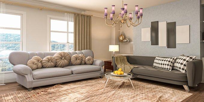 Living Room, Decor, Furniture, Decorations, Apartment