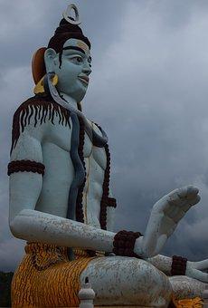 Lord, Shiva, Statue, Sculpture, Symbol, Mahadev