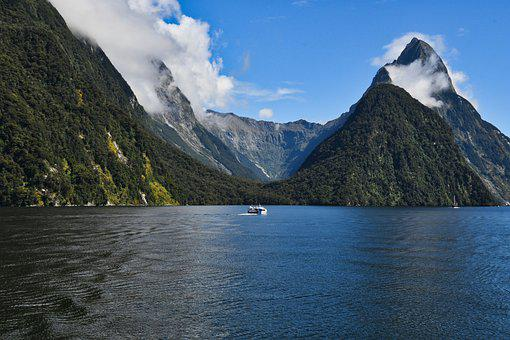 Fiord, Water, Waterscape, Fjord, National Park