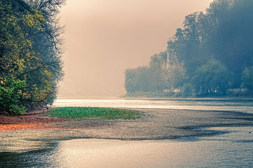 Waterscape, River, Danube Gorge, Water, Nature