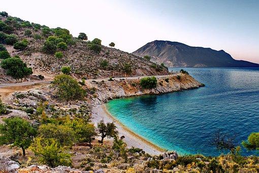 Beach, Coast, Island, Ocean, Sea, Blue Sea, Blue Ocean