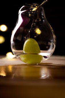 Lightbulb, Grape, Water, Broken, Bulb, Recycling