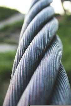 Rope, Cable, Steel Cable, Wire Rope, Laid Rope