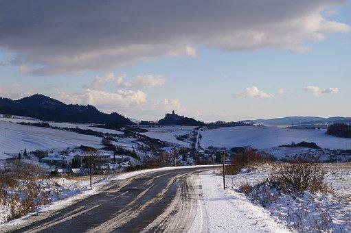 Road, Snowy Road, Landscape, Snow, Snowy, Roadyway