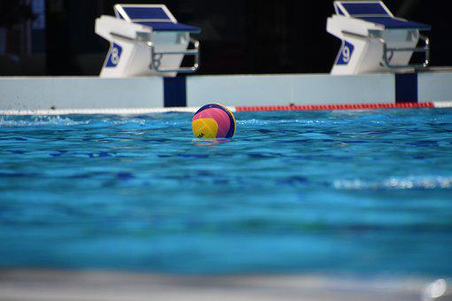 Water Polo, Pool, Water Polo Ball, Swimming Pool, Water