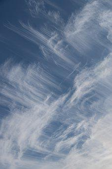 Clouds, Cirrostratus Clouds, Sky, Blue Sky, Thin Clouds