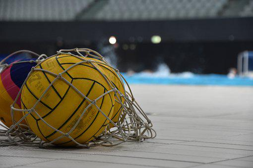 Water Polo Ball, Ball, Water Polo, Pool, Swimming Pool