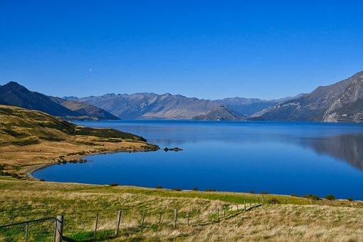 Lake, Water, Mountains, Waterscape, Mountain Range