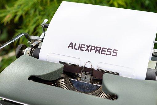 Typewriter, Word, Paper, English, Mockup, Shipping