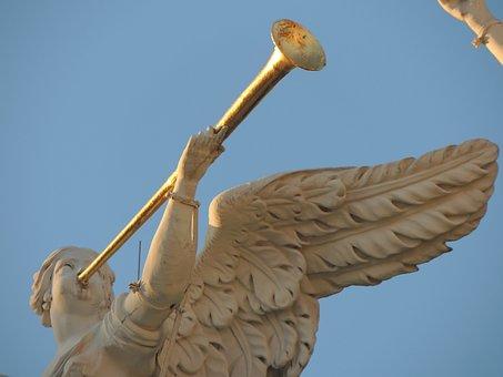 Statue, Fig, Angel, Sculpture, Woman, Art, Face
