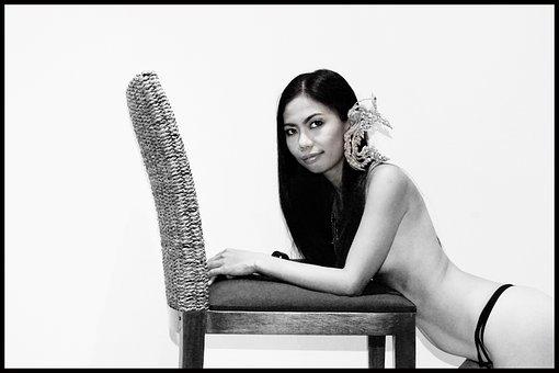 Thai Lady, Art, Nude, Asia, Thai, Thailand, Girl