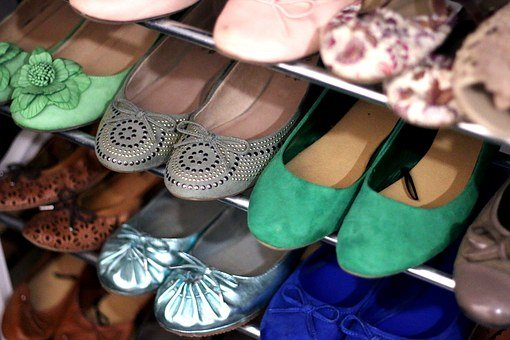Shoes, Shoe Cabinet, Women's Shoes, Ballerinas