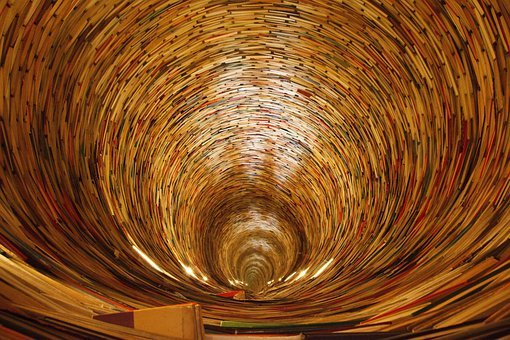 Book, Books, Circle, Curly, Education, Knowledge, Learn