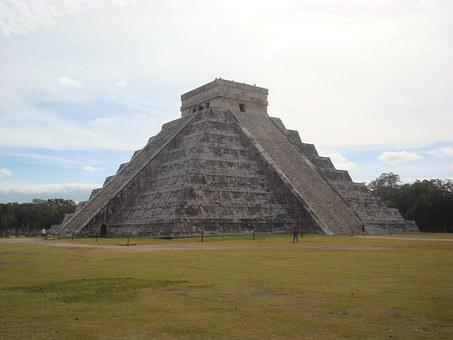 Chichen Itza, Mexico, Sun, Weekend, Blue, Culture