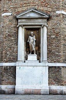 Da Vinci, Stucco Element, Facade, Ornament, Fig