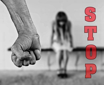 Stop, Fear, Violence Against Women, Abuse, Beat, Crime