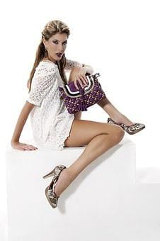 Fashion, Handbag, Purple, Woman, Girl, Female, Style