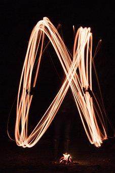 Fire, Iron, Filament, Element, Heat, Light, Illuminate