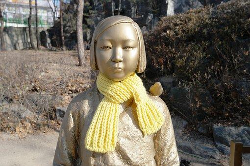 Girl Award, Girl, Comfort Girl Award, Girl Statue