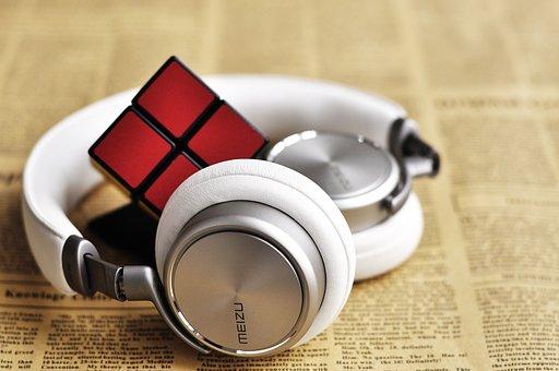 Headphones, Headset, Meizu