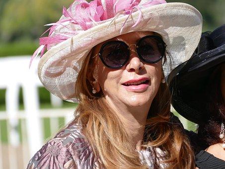 Hat, Fashion, Women, Hippodrome