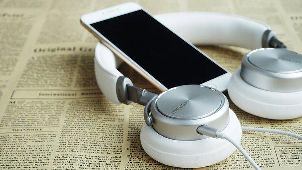 Headphones, Headset, Mobile, Meizu