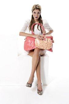 Handbag, Fashion, Pink, Woman, Female, Style